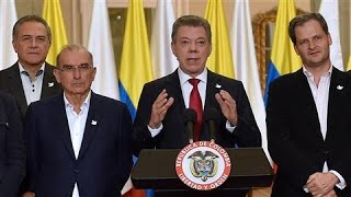 Download Colombia's Peace Deal With FARC Rejected Video