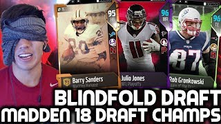 Download BLINDFOLD DRAFT! 2 DRAFT N' PLAYS! Madden 18 Draft Champions Video