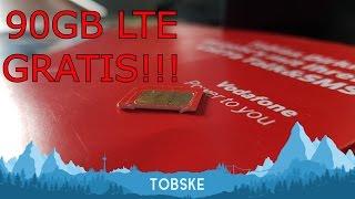 Download 90GB LTE Datenvolumen von Vodafone geschenkt bekommen? - So gehts! - Tutorial/Anleitung von Tobske! Video