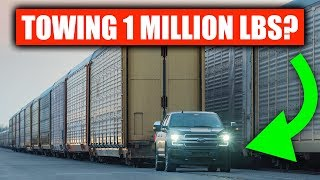 Download No, Ford's Electric F-150 Can't Tow 1 Million Pounds (Realistically) Video
