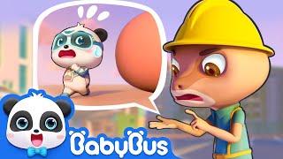 Download Watch out! Super Panda Kiki   Super Panda Rescue Team   Magical Chinese Characters   BabyBus Cartoon Video