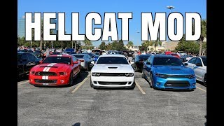 Download FIRST MOD To My Hellcat at Houston Coffee & Cars Video