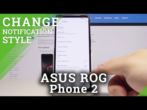 How to Customize LED Notification in ASUS ROG Phone 2 – Manage Notifications