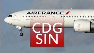 Download Air France B777-300ER Business Class | CDG – SIN – (SYD) Video