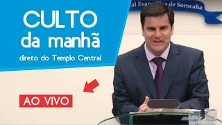 Download CULTO AO VIVO - DOMINGO - MANHÃ | 23 - 04 - 17 Video
