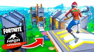 Download The *INSANE* NINJA WARRIOR COURSE In Fortnite Creative! Video