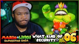 Download ″WHAT'S THIS SECURITY!?″ | Mario and Luigi Superstar Saga + Bowser's Minions w/ @PKSparkxx! - Part 6 Video