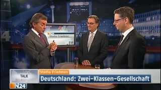 Download Studio Friedman: Zwei Klassen Gesellschaft (Sendung vom 06.12.2012) Video