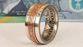 Download Making a Spinner Ring from Two Coins Video