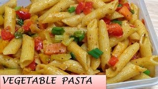 Download How To Make Indian style Vegetable Pasta | Easy & tasty pasta | Chunky vegetable pasta Video