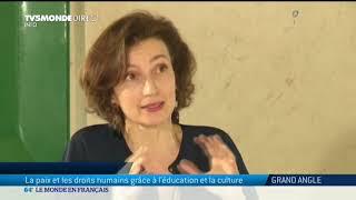 Download Audrey Azoulay: La paix et les droits humains grâce à l'éducation et la culture Video