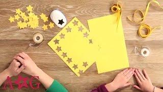 Download DIY Shooting Star Garland Craft   American Girl Video