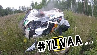 Download NESTE RALLY FINLAND 2017 | 15 CRASHES | SPECTATOR HEAD CAM Video