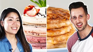 Download Trendy Vs. Traditional: Pancakes Video
