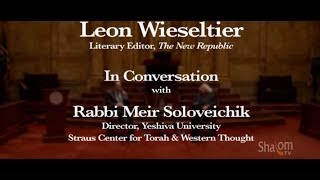 Download Leon Wieseltier & Meir Soloveichik - ″The Future of the Soul in America″ Video