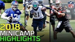 Download 2018 Minicamp Highlights: Odell, Wentz, Mahomes, Luck, & More! | NFL Video