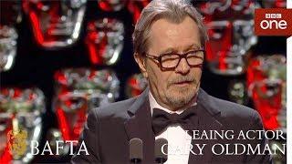 Download Gary Oldman wins Leading Actor BAFTA - The British Academy Film Awards: 2018 - BBC One Video