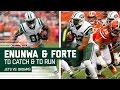 Download Enunwa's Tackle-Breaking TD & Huge Catch Sets Up Forte's TD Blast! | Jets vs. Browns | NFL Video