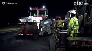 Download Resurfacing Dublin Airport's Runway Video