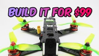 Download How to build a Pro FPV Racing DRONE for ONLY $99 Full Build guide + Giveaway Video