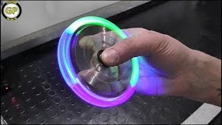 Download LED Hand Spinner Fidget Toy - Fai da te - Life Hack Video