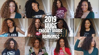 Download HUGE 2019 CROCHET BRAIDS RANKED| FREETRESS ,MANE CONCEPT, OUTRE AND MORE| LIA LAVON Video