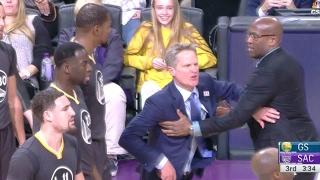 Download Steve Kerr gets EJECTED! | Warriors vs Kings | 02/04/17 Video