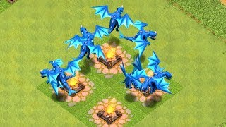 """Download ALL ELECTRIC DRAGON RAID """" clash of clans"""" NEW UPDATE! Video"""
