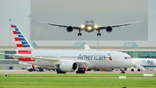 Download American Airlines Boeing 787-8 at Dublin Airport Video