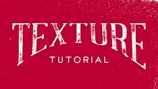 Download How To Add Texture To Your Hand Lettering In Illustrator CC Video