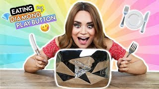 Download EATING MY DIAMOND PLAY BUTTON!! Video