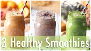 Download 3 Healthy Smoothie Recipes | Healthy Breakfast Ideas Video