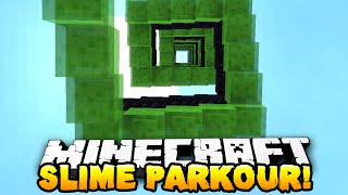 Download Minecraft - ULTIMATE SLIME PARKOUR! (Slime Bounce Craziness) w/ Preston & Kenny Video