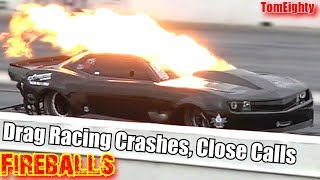 Download Drag Racing Crashes Close Calls and Fireballs Video
