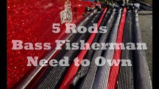 Download 5 Rods Bass Fisherman Need to Own Video