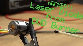 Download HACKED!: Laser Diode from DVD Burner || Constant Current Source Video
