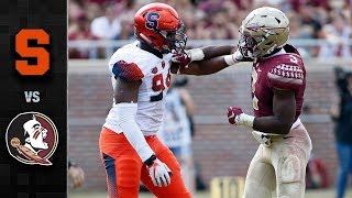 Download Syracuse vs. Florida State Football Highlights (2017) Video