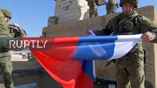 Download Syria: Russian troops enter former US army base in Raqqa province Video