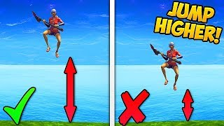 Download HOW TO JUMP HIGHER..!! *NEW TRICK* - Fortnite Funny Fails and WTF Moments! #287 (Daily Moments) Video