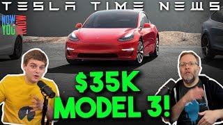 Download Tesla Time News - $35K Model 3 is Here! Video