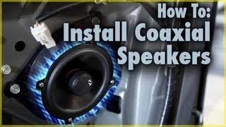 Download How To Install Coaxial Car Speakers | Aftermarket Speakers in a Scion tC | Car Audio 101 Video