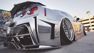 Download Kuhl Racing's - Chrome GTR on Savini Concave Step Lips Video