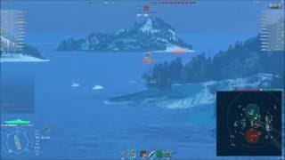 Download WoWs - Bismarck Secondary Build (227.852 Dmg with 446 Secondary Hits) Video