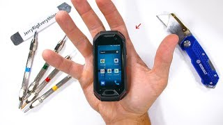 Download Worlds SMALLEST Rugged Smartphone - Durability Test! Video