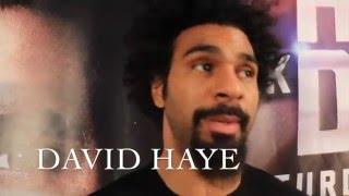 Download DAVID HAYE ON HIS COMEBACK ,MARK DE MORI, DAVE TV & BRANDS ANTHONY JOSHUA POSTER BOY FOR UK BOXING Video
