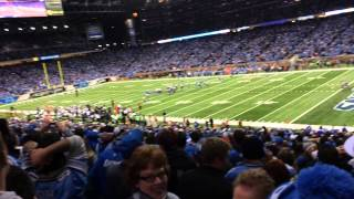 Download Justin Tucker 61 Yard Game winning field goal, Ravens Lions, Ford Field Video