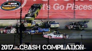 Download Nascar Truck Series - 2017 - Crash Compilation Video