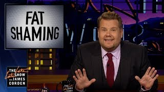 Download James Corden Responds to Bill Maher's Fat Shaming Take Video