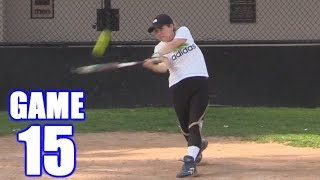 Download SAM HOMERS IN HER FIRST AT-BAT EVER! | On-Season Softball Series | Game 15 Video