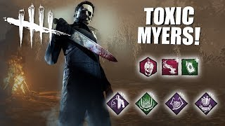 Download Playing As Michael Myers BUT I'm SUPER TOXIC | Dead By Daylight Video